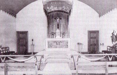 An Historical image of the Church interior
